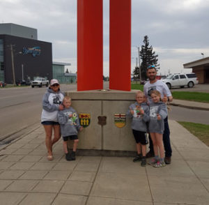Alberta-Saskatchewan Border