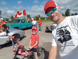 Canada Day Parade in Geraldton, ON