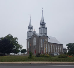 One of Quebec's many old churches.