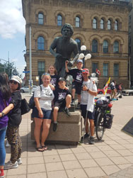 Terry Fox Momument in Ottawa
